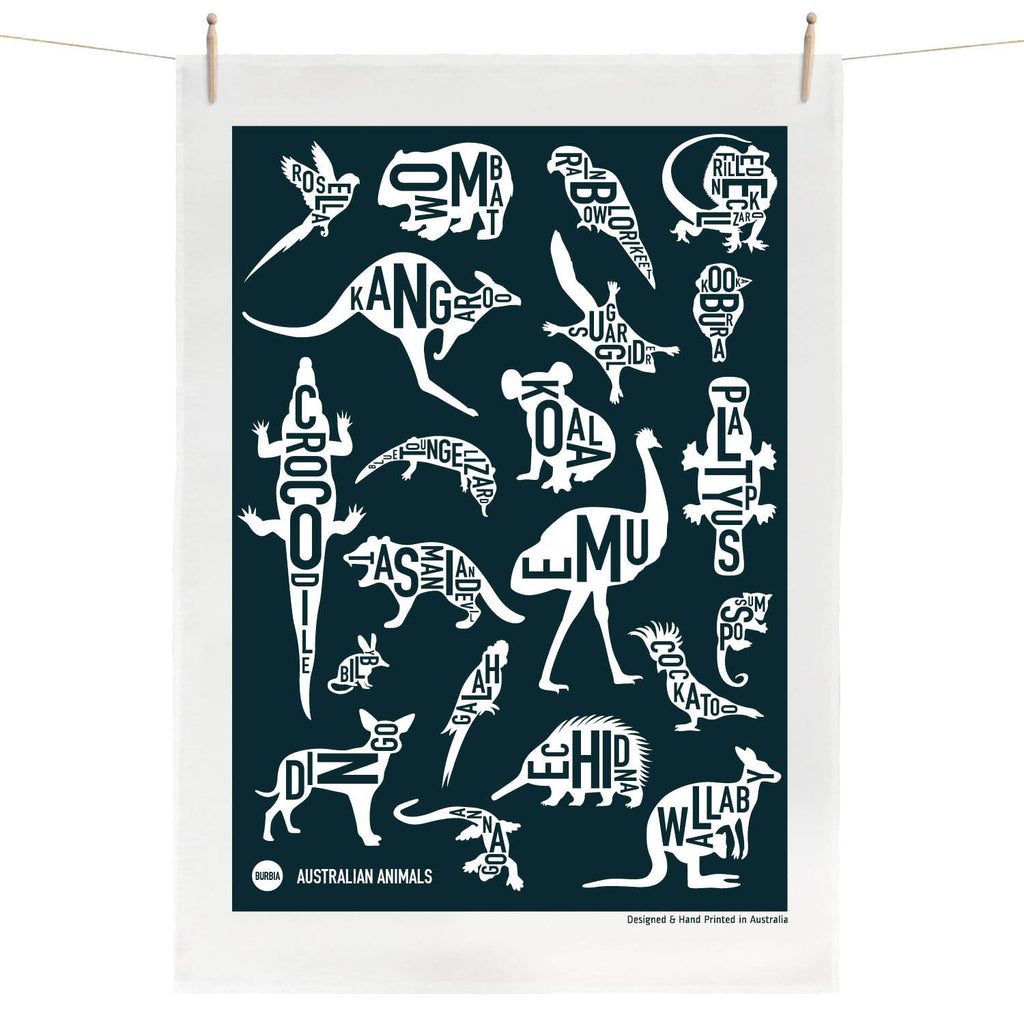 Australian Tea Towel