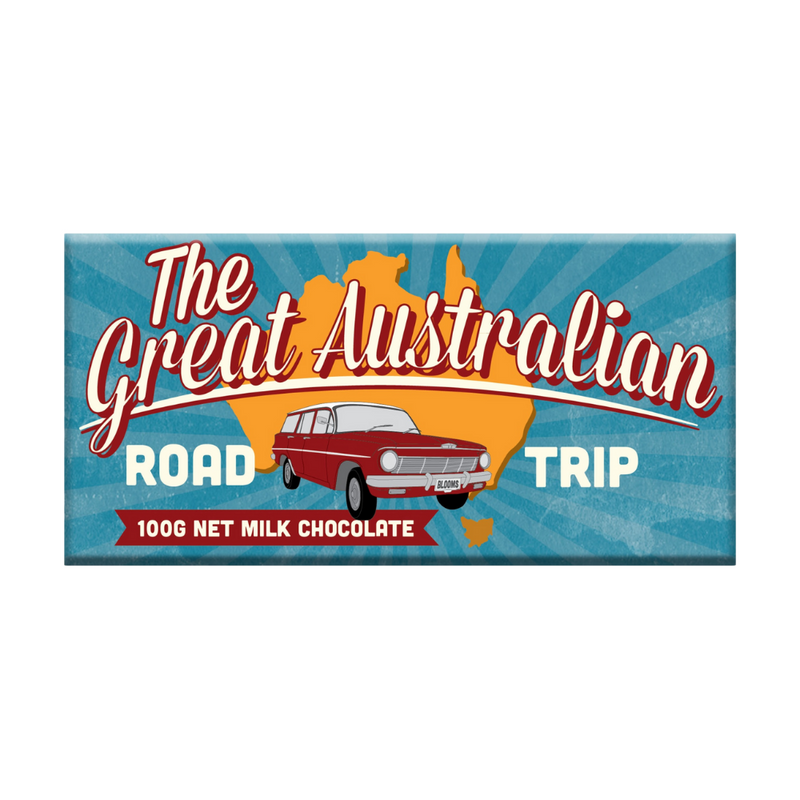 Chocolate Bar (Milk) The Great Australian Road Trip 100g