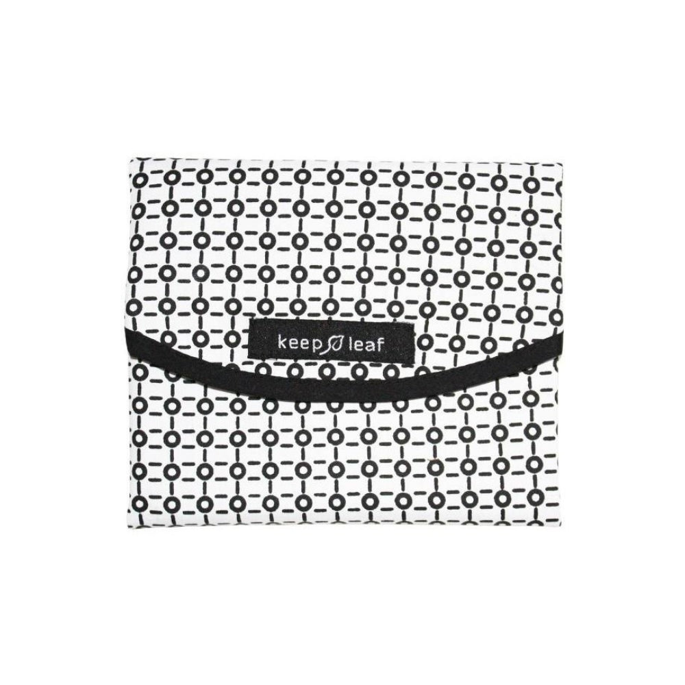 Reusable Sandwich Bag Large (Black & White Design)