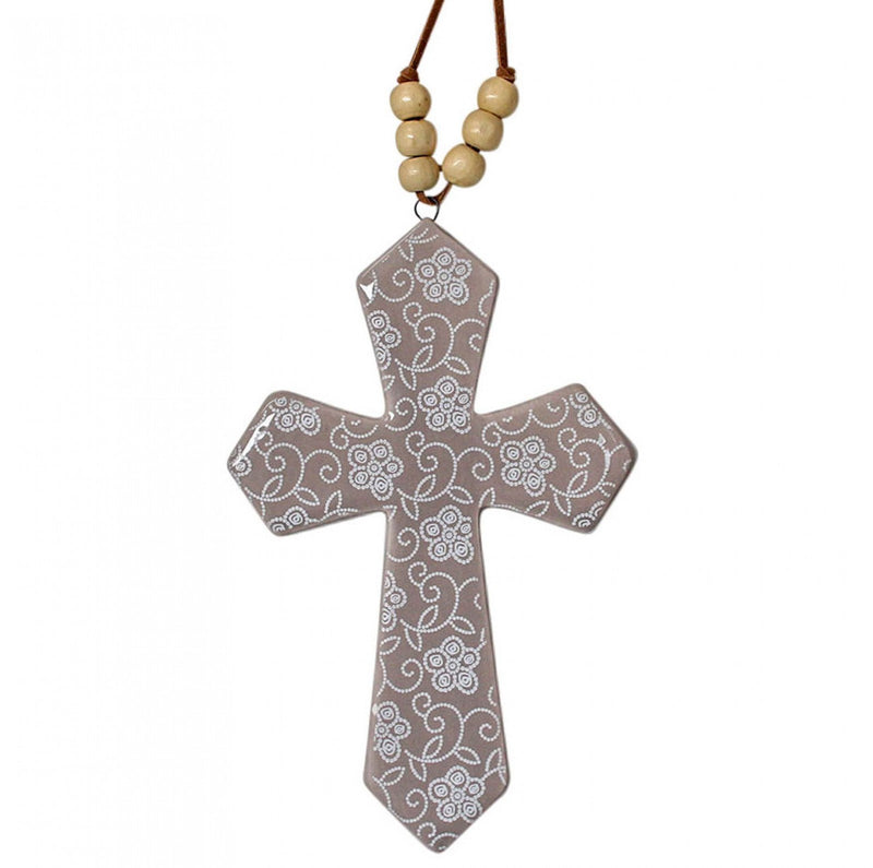 Cross with Beads Drift (Small)