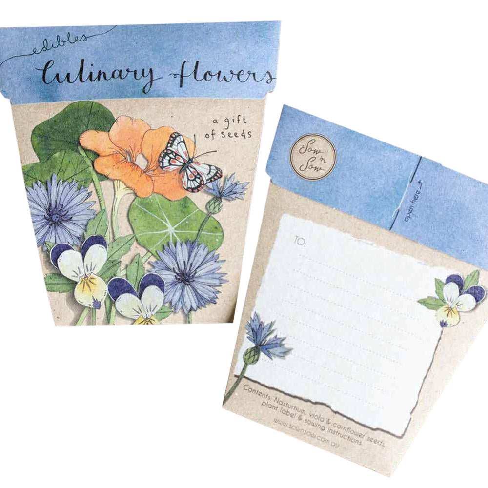 Gift Seeds - Culinary Flowers