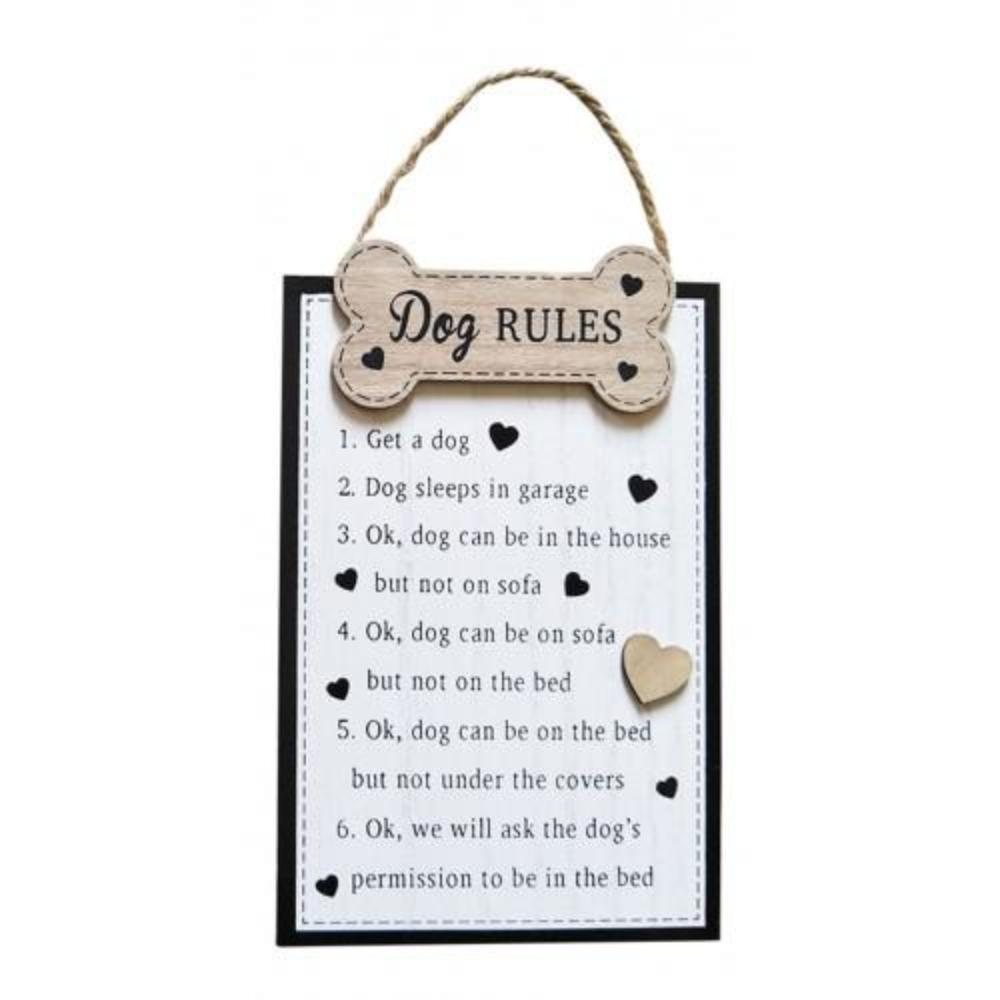 Dog Rules Sign