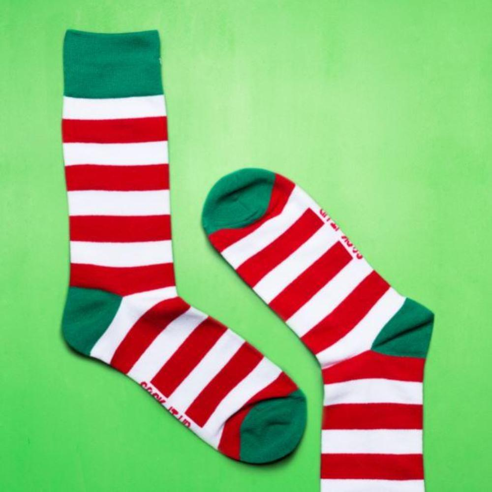Sock It Up Socks - Elf Yourself Design