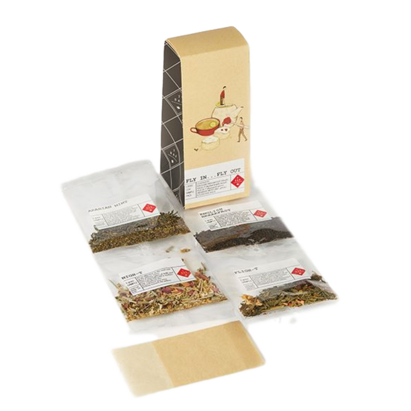 T Bar Tea - Fly In Fly Out Travel Tea Pack