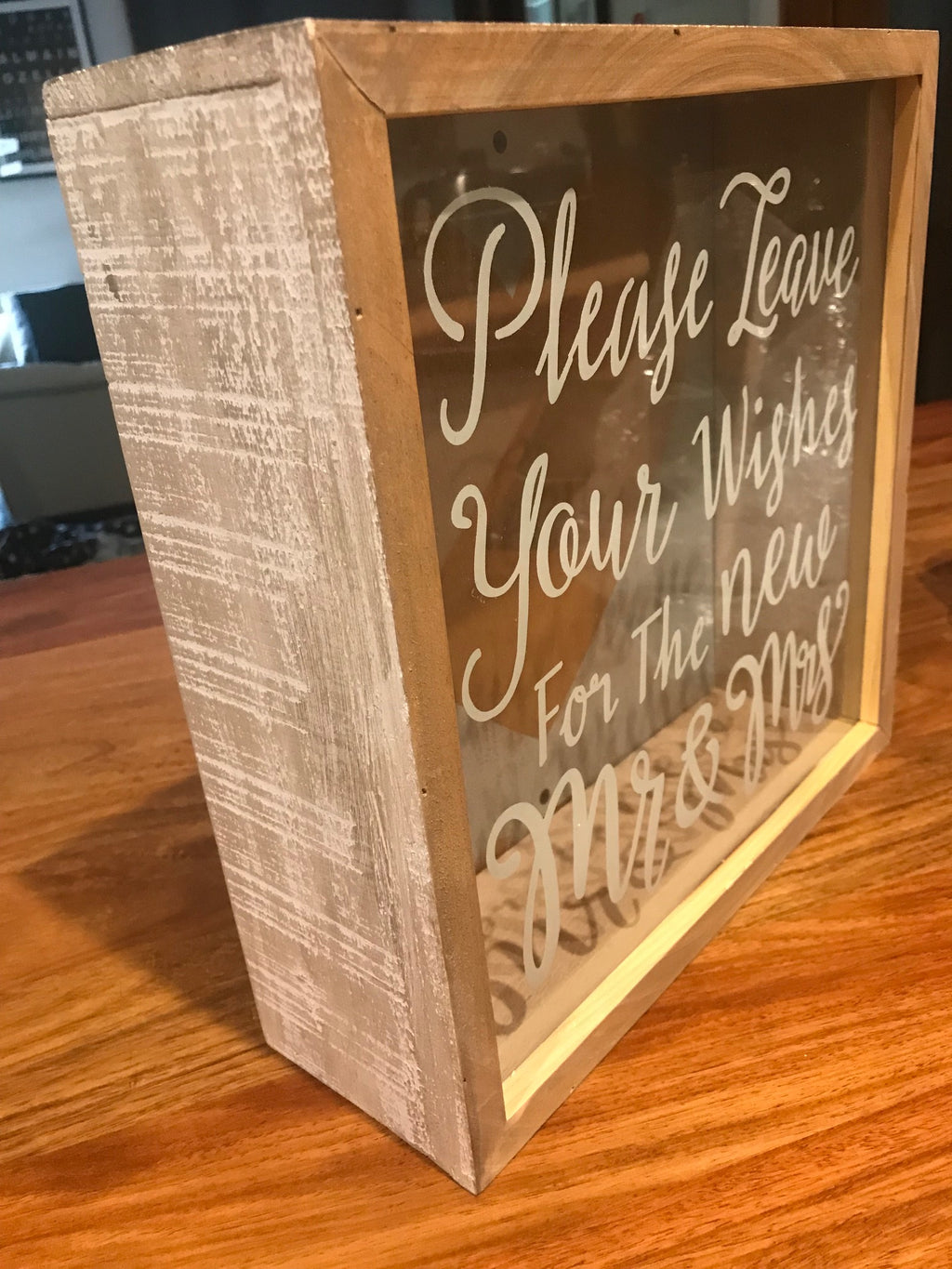 Wedding Wishes Box