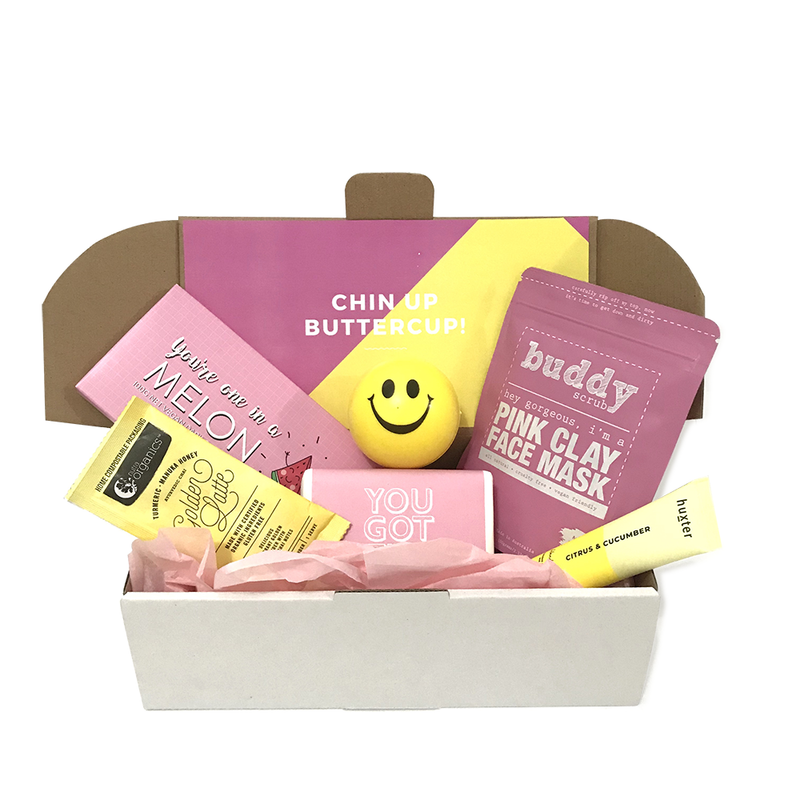 Chin Up Buttercup Gift Box
