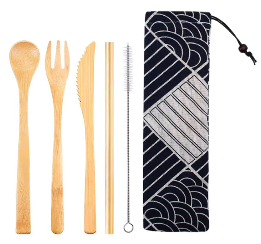 Travel Cutlery Set (Set of 5)