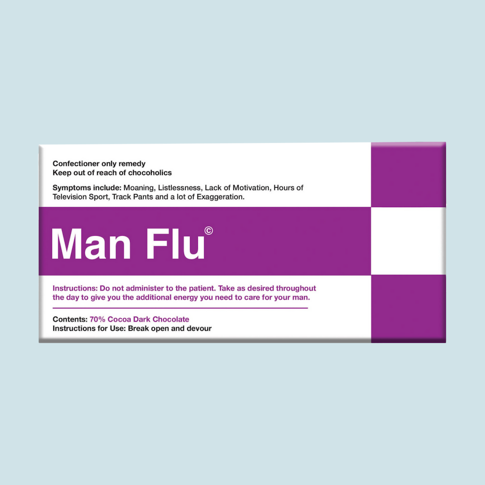 Chocolate Bar (Milk) - Man Flu  100g