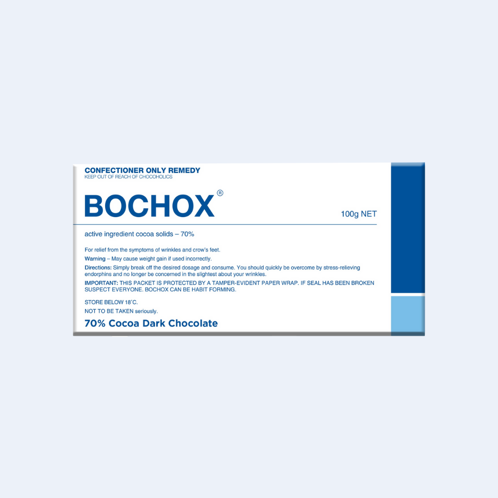Chocolate Bar (Dark) Bochox 100g