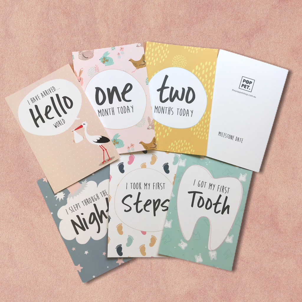 Baby Milestone Cards (set of 16)