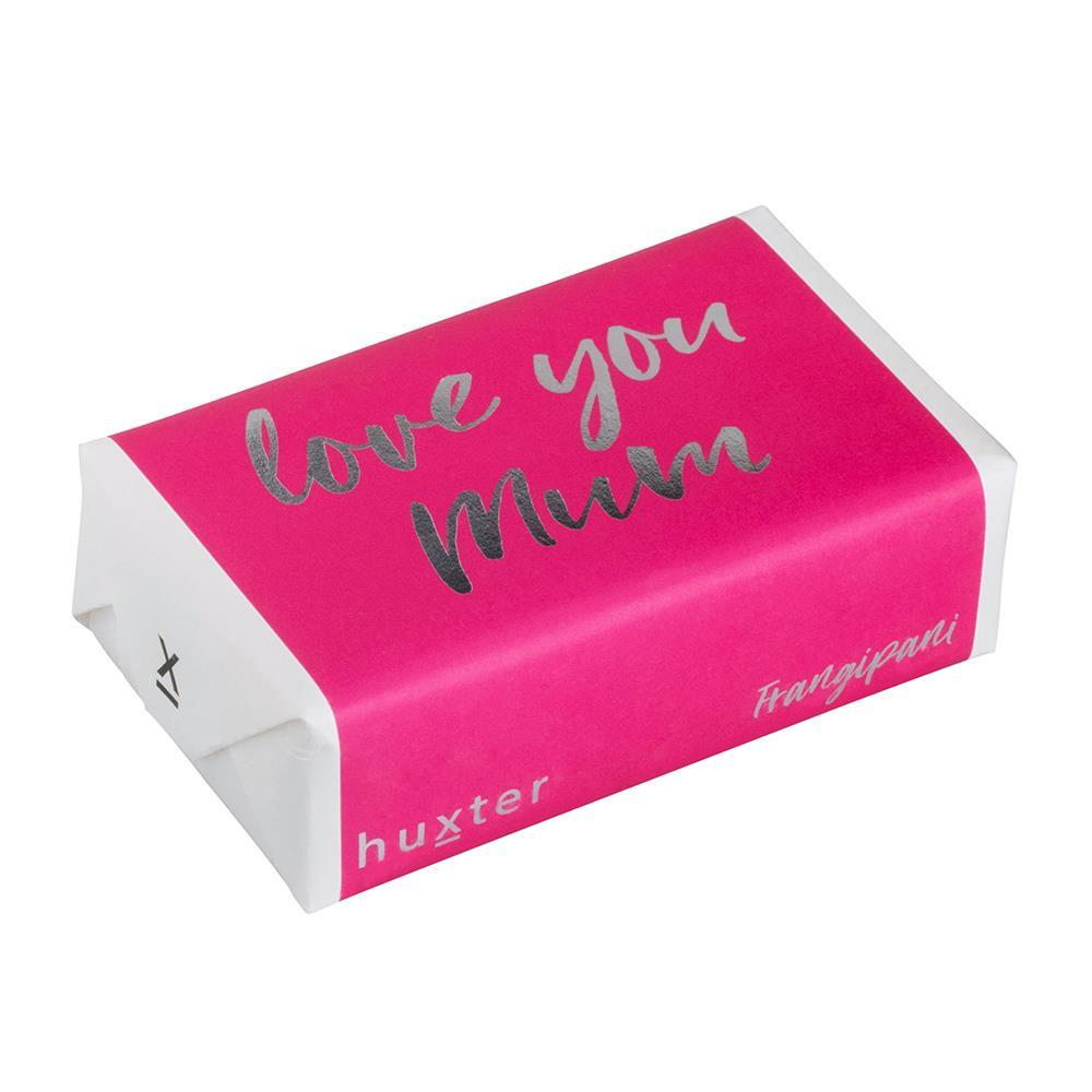 Love you Mum Gift Wrapped Soap (Frangipani) 200gm