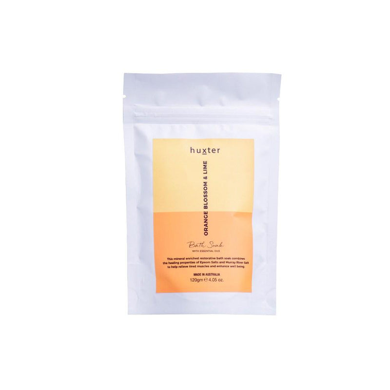 Bath Soak Orange Blossom & Lime 120gm