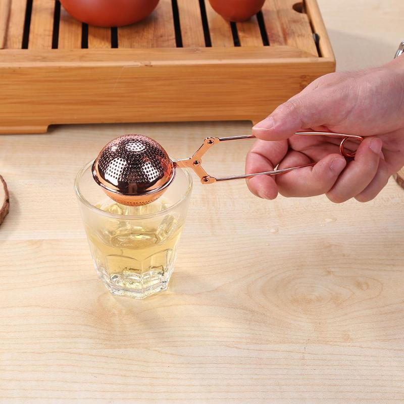 Rose Gold Tea Infuser (Stainless Steel)