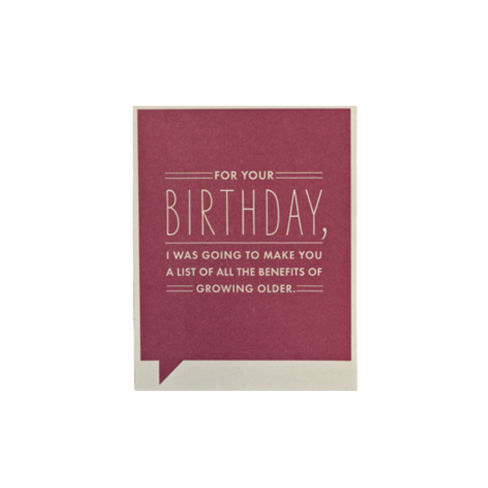 Frank & Funny Birthday Card