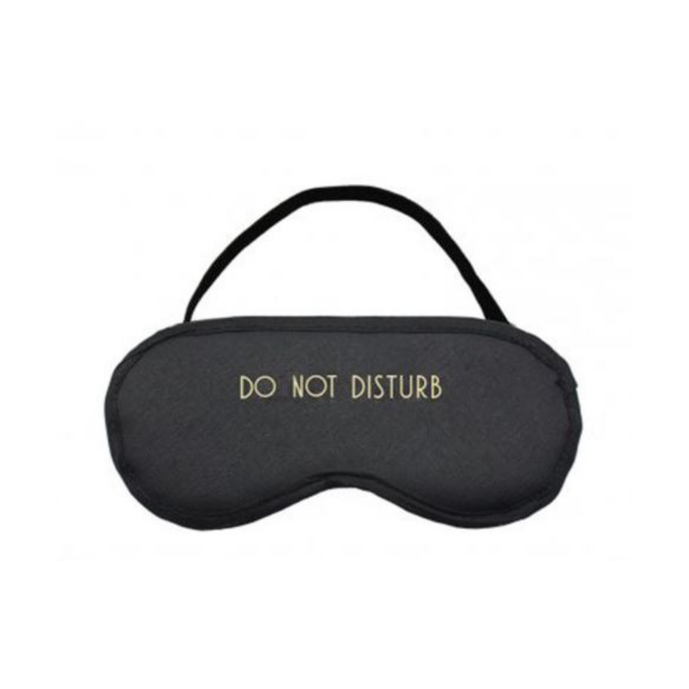 Do Not Disturb Sleep Mask