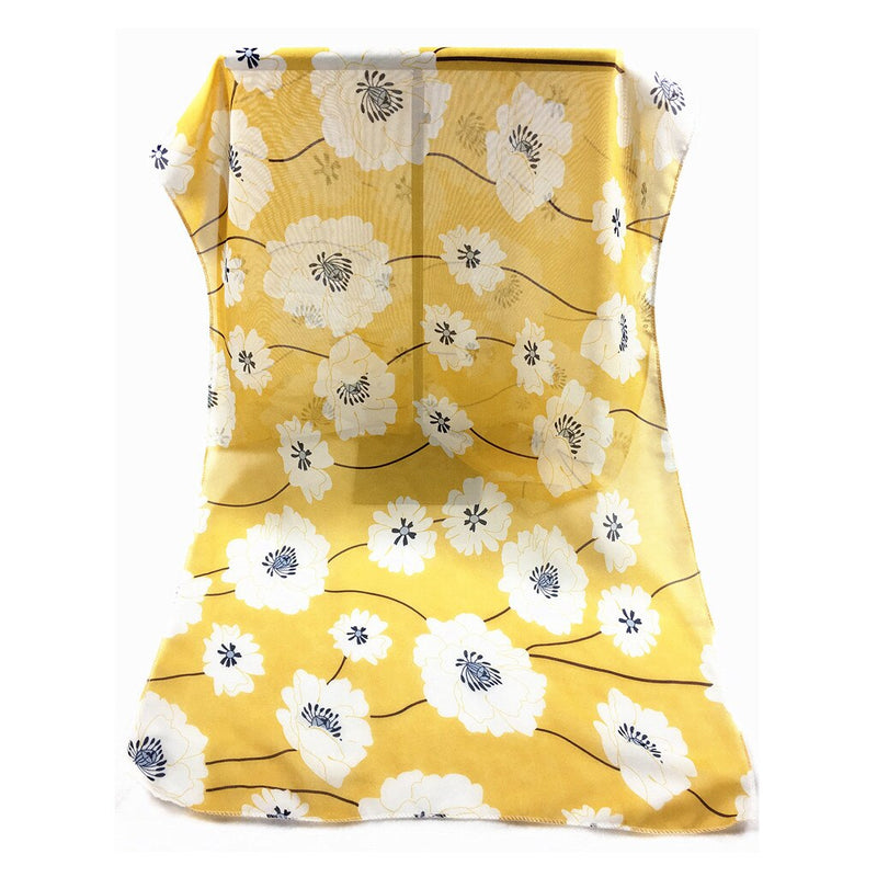Ladies Summer Yellow Scarf