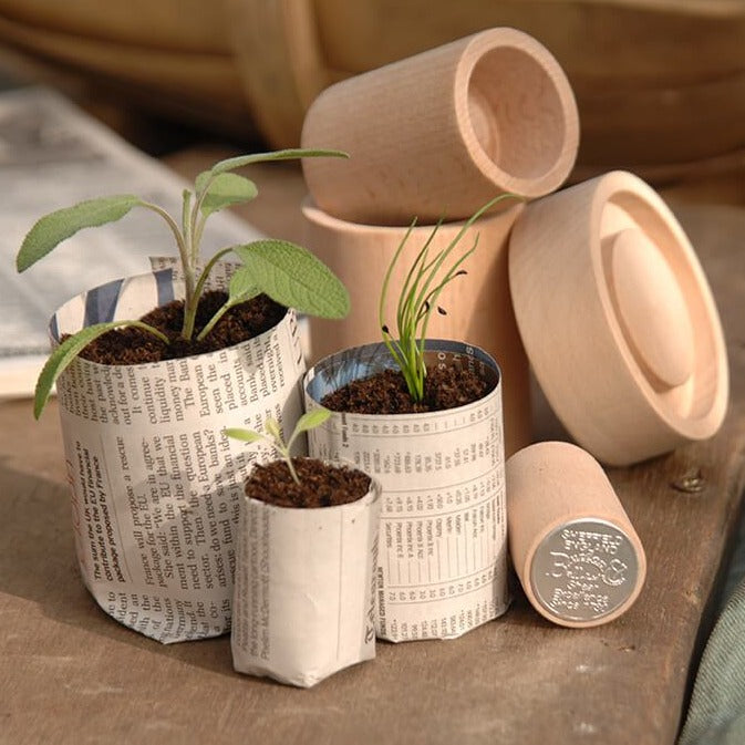 Eco Paper Pot Maker