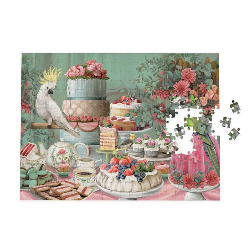 1000 Piece Jigsaw Puzzle - Lavish Tea Party Design