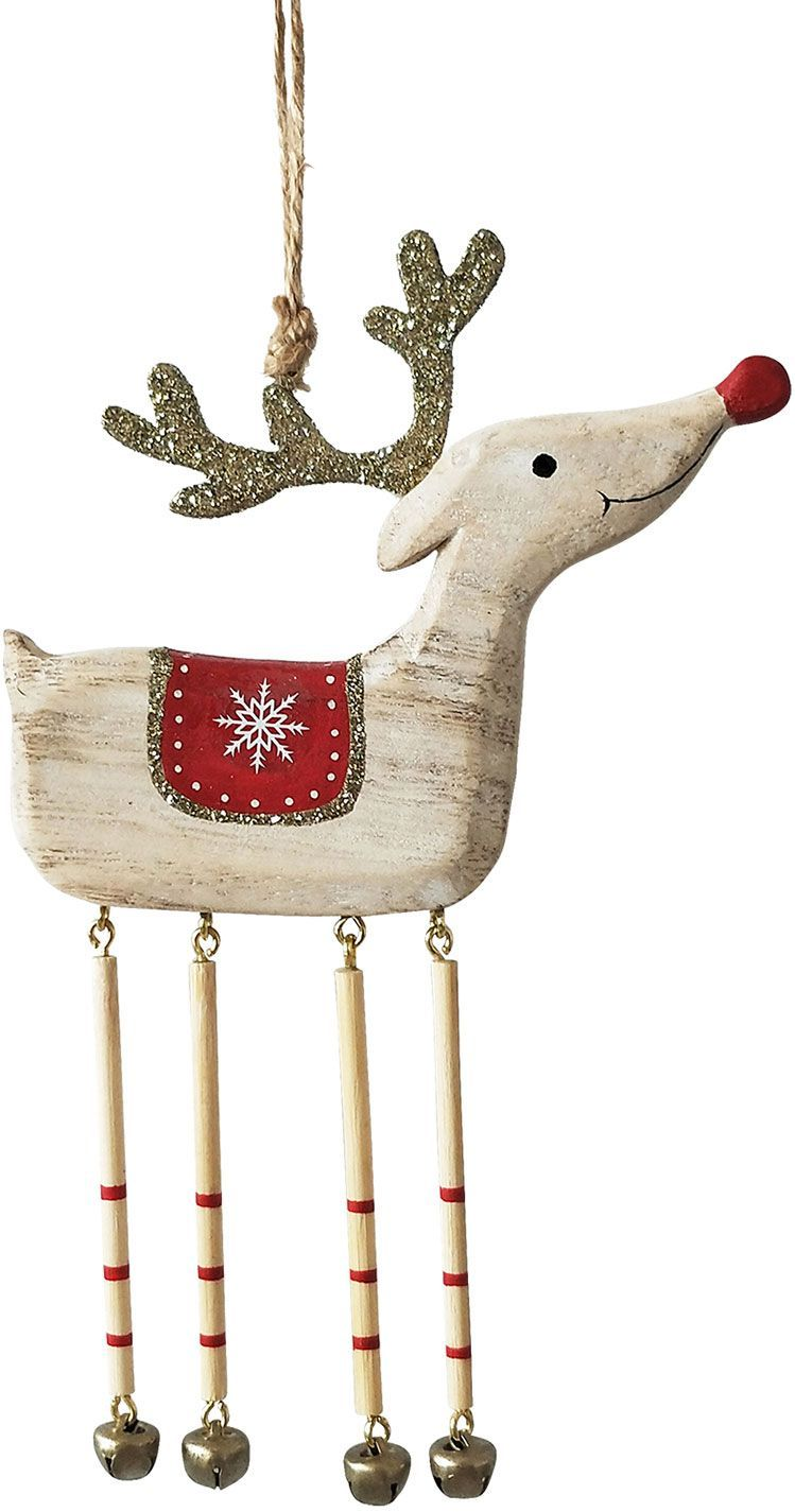 Reindeer Dangly Legs Hanging Decoration