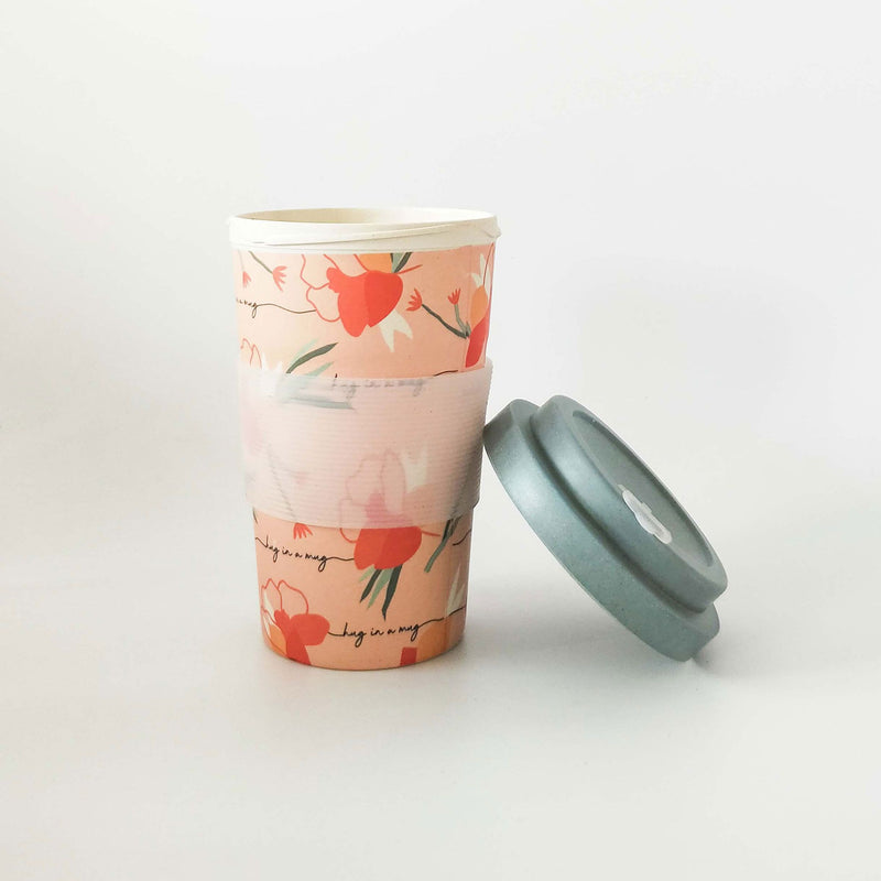 Reusable Eco Mug - Hug in a Mug