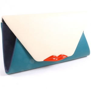 SWAK CLUTCH - TEAL