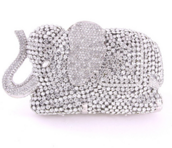 CRYSTAL ELEPHANT CLUTCH