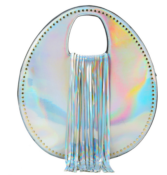 NORTHERN LIGHTS FRINGE BAG
