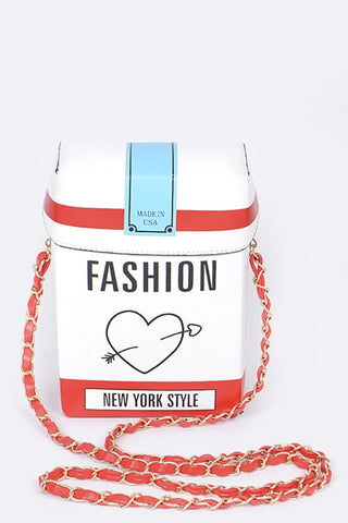 SMOKIN' HOT FASHION CLUTCH - WHITE