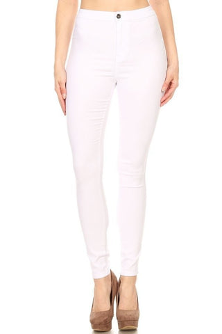 CLOROX CLEAN WHITE JEANS