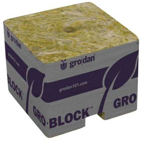 Grodan PRO Starter Mini-Blocks 1.5 in Unwrapped