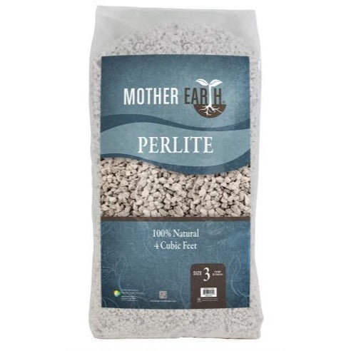 Mother Earth Perlite # 3 - 4 cu ft (30/Plt)