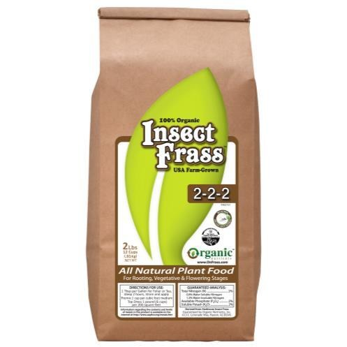 Organic Nutrients Insect Frass 2 lb