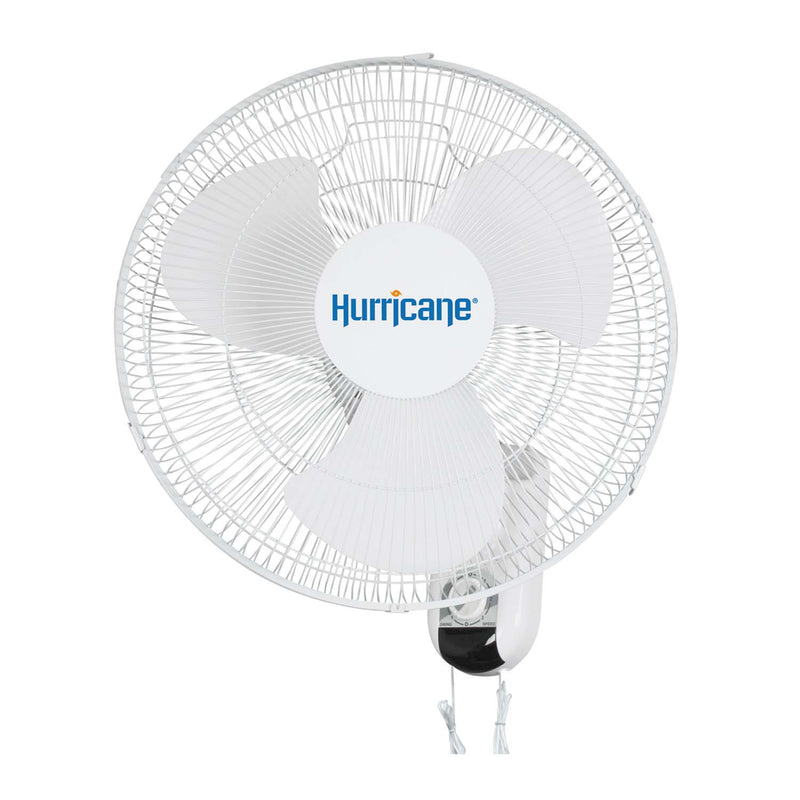 Hurricane Supreme Oscillating Wall Mount Fan 16 in