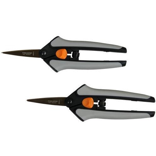 Fiskars Non-Stick Softgrip Micro-Tip Pruning Snip