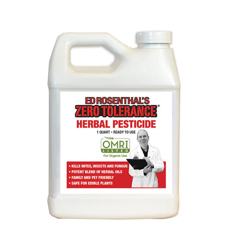 Zero Tolerance Herbal Pesticide RTU Ready-To-Use by Ed Rosenthal