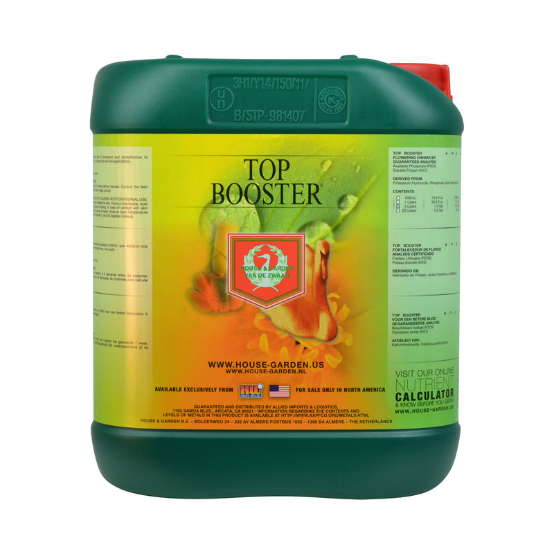 House and Garden Top Booster - Flowering Stimulator