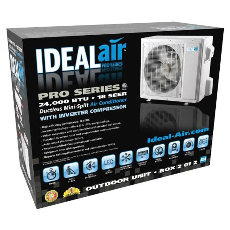 Ideal-Air Pro Series Cooling Only 36,000 BTU 18 SEER