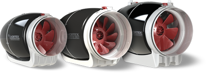 Vortex Powerfans S-Line Ultra Quiet Mixed Flow Fans (S-600, S-800, S-1000)