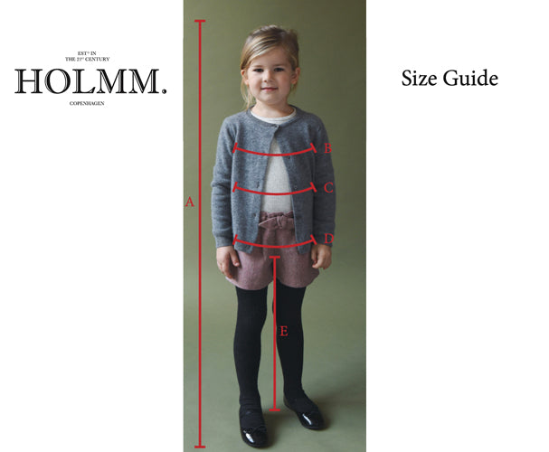 Size Chart Holmm