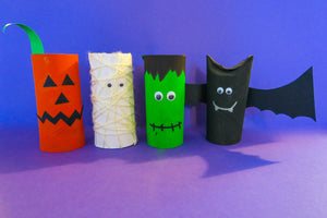 Crafty Halloween Characters!
