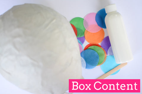 Colour Blast Piñata Box - Crafty Party Box