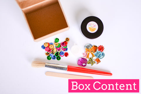 Trinket Decorating Box - Crafty Party Box