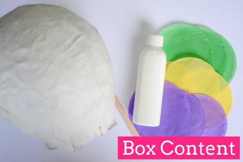Random Selection Piñata Box - Use Your Imagination! - Crafty Party Box