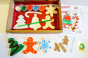 Paint Your Own Christmas Decorations (LARGE)