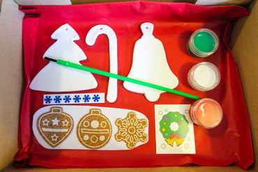 Paint Your Own Christmas Decorations Kit (SMALL)