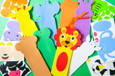 Jungle Animal Bookmark Kits