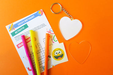 Keyring Decorating Kit