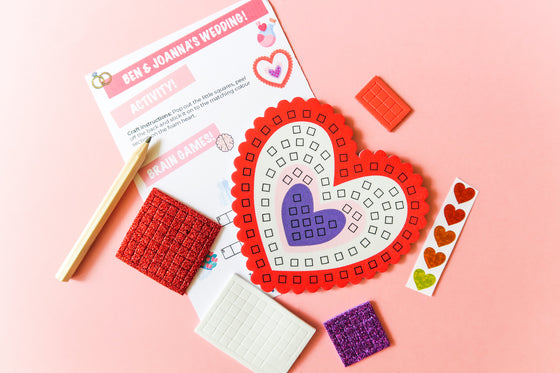 Mosaic Heart Coaster Kits