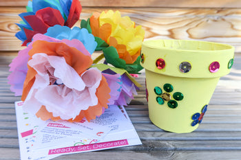 Spring Box Close | Crafty Party Box | Kids Craft Boxes For Ages 3 - 12