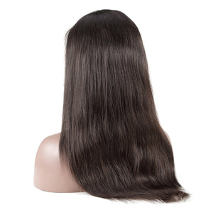 Full  Lace Brazilian Remy Lace Human Hair Wigs | Straight Hair | 130% Density With Baby Hair